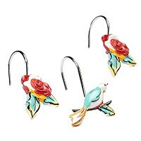 Lenox 12-pack Chirp Shower Curtain Hooks