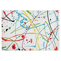 Couristan Spectrum Painted Canvas Abstract Rug