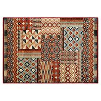 Couristan Solace Semi Arid Patchwork Rug