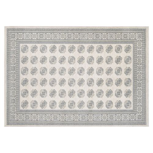 Couristan Traditions Sanskrit Framed Medallion Rug