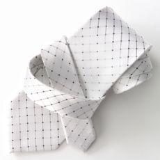 Croft and barrow- Dotted Grid tie