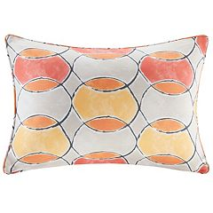 Madison Park 3M Scotchgard Outdoor Oblong Throw Pillow