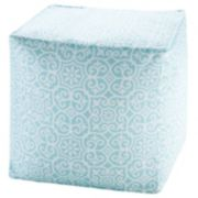 Madison Park 1-Panel 3M Scotchgard Outdoor Pouf