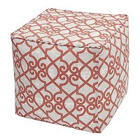 Madison Park 3M Scotchgard Outdoor Pouf