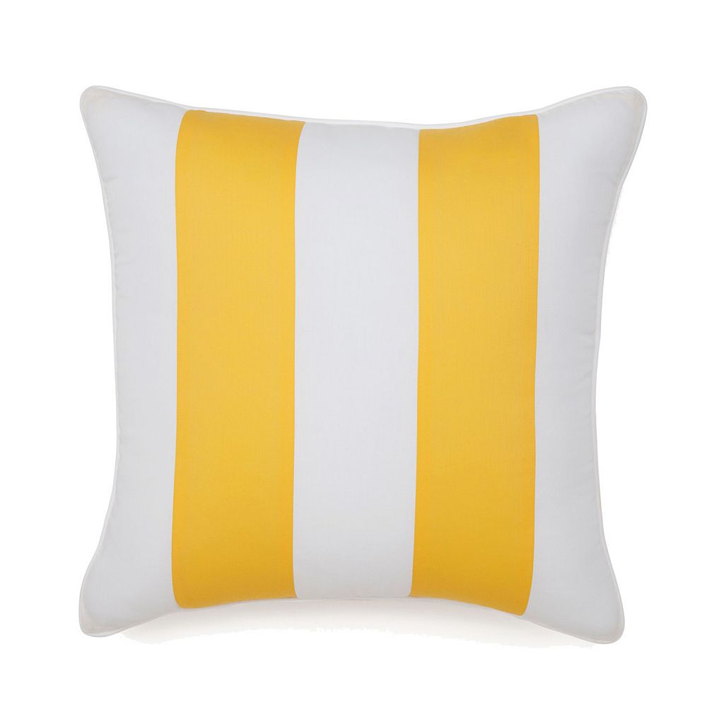 Jill Rosenwald Hampton Links Stripe Throw Pillow