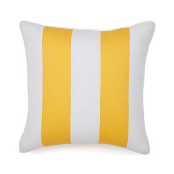 Jill Rosenwald Hampton Links Stripe Throw Pillow