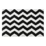 Intelligent Design Chevron Tufted Rug