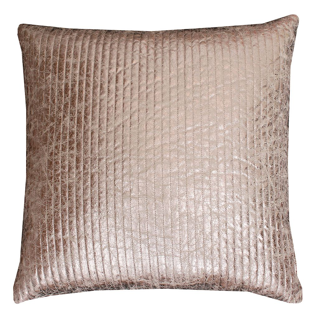 Thro by Marlo Lorenz Gary Quilted Crackle Throw Pillow
