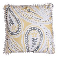 Thro by Marlo Lorenz Katerina Pom Pom Throw Pillow