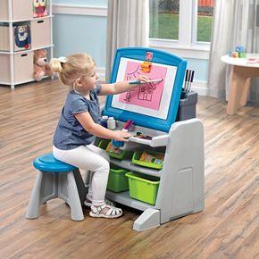 Step2 Flip Amp Doodle Easel Desk Amp Stool Null