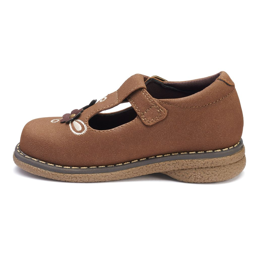 Rachel Shoes Sharon Toddler Girls' T-Strap Mary Jane Shoes
