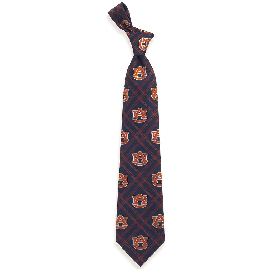 Adult NCAA Plaid Tie