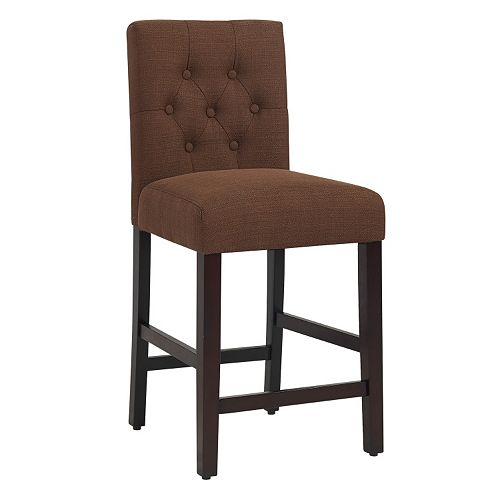 Bella Tufted Counter Stool