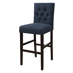 Bella Tufted Bar Stool