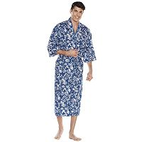 Big & Tall Residence Tropical Kimono Robe