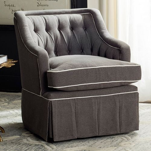 Safavieh Truitt Swivel Club Chair