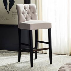 Safavieh Tiffany Tufted Bar Stool