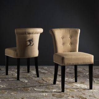 Safavieh Sinclair Accent Chair 2-piece Set