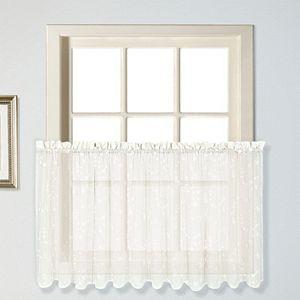 United Curtain Co. Savannah Tier Curtain Pair