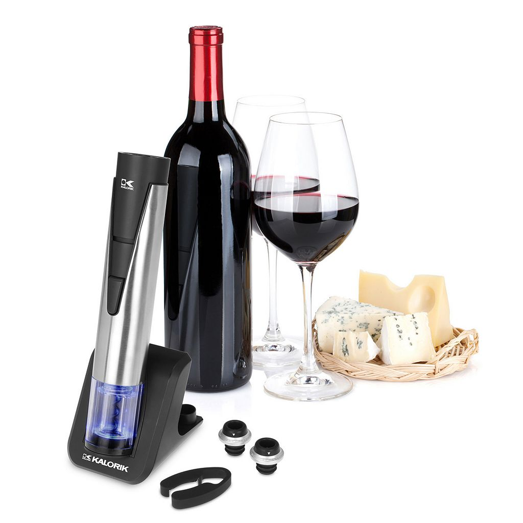 Kalorik 2-in-1 Wine Opener & Preserver