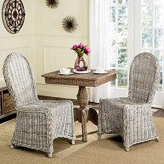 Safavieh Idola Wicker Dining Chair