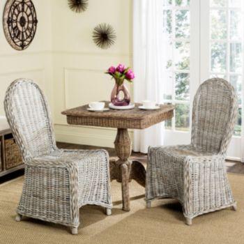 Safavieh Idola Wicker Dining Chair