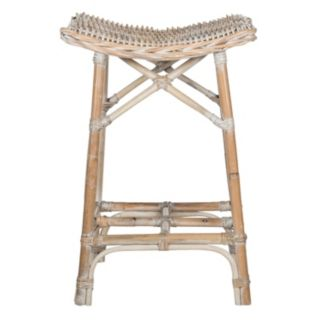 Safavieh Rayna Wicker Bar Stool