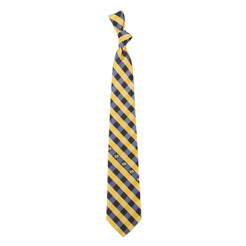Adult NHL Check Woven Tie