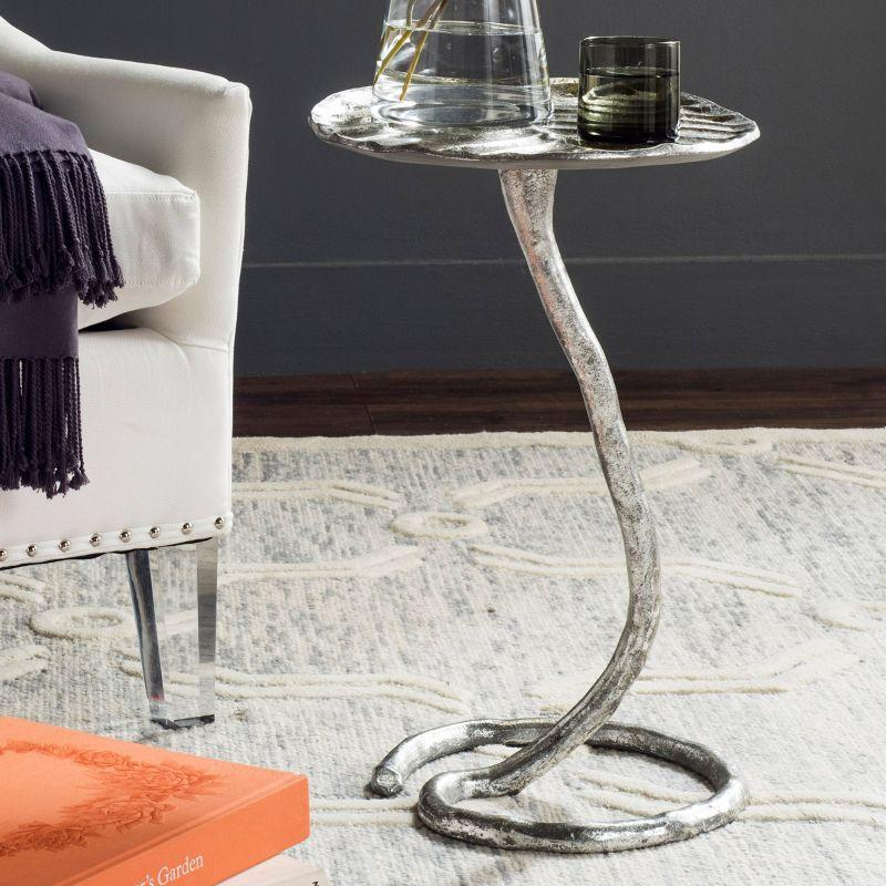 Safavieh Mina End Table, Silver