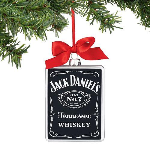 - Jack Daniels Rectangle Christmas Ornament