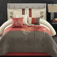 Jackie 7 pc Bed Set