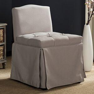 Brilliant Safavieh Georgia Vanity Stool Machost Co Dining Chair Design Ideas Machostcouk