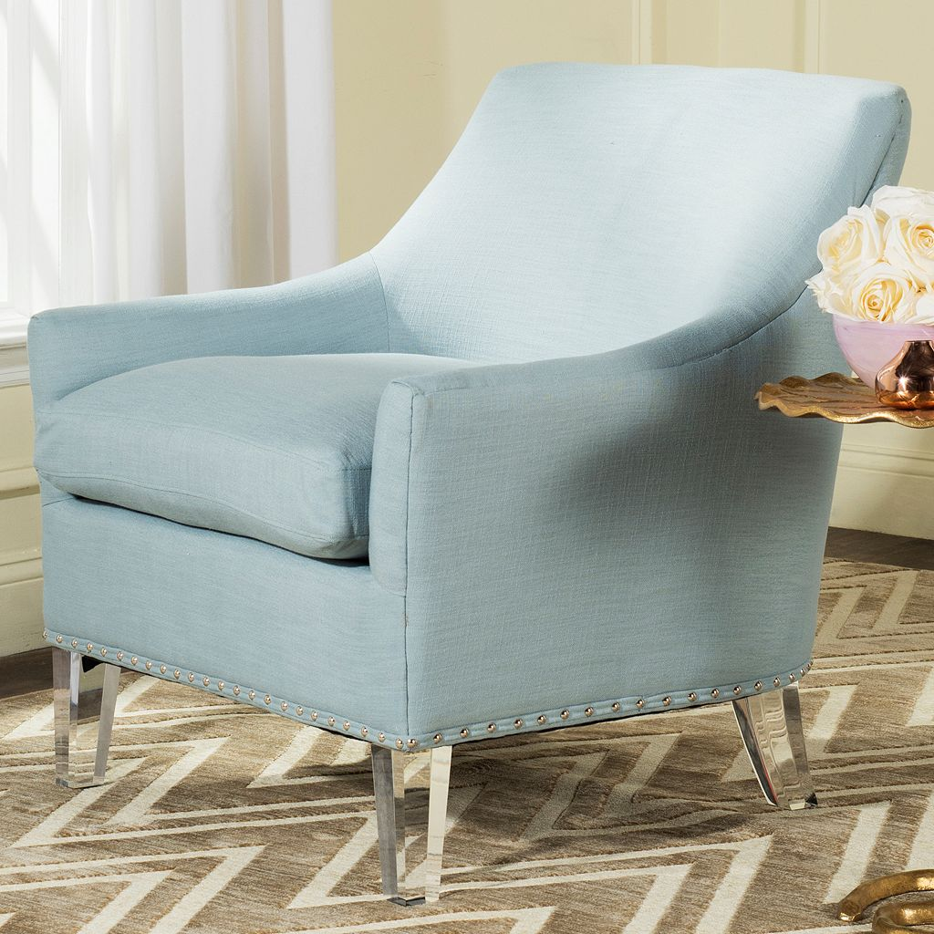 Safavieh Hollywood Glam Sloped Arm Chair