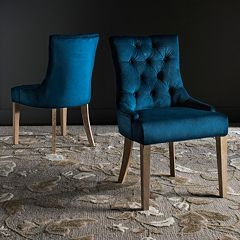 Safavieh Abby Tufted Accent Chair 2-piece Set