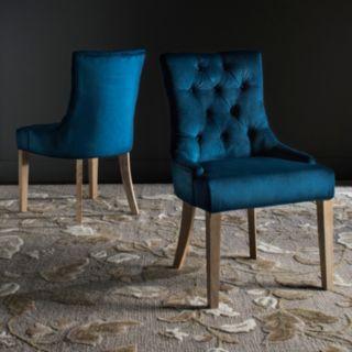 Safavieh Abby Tufted Accent Chair 2-piece Set