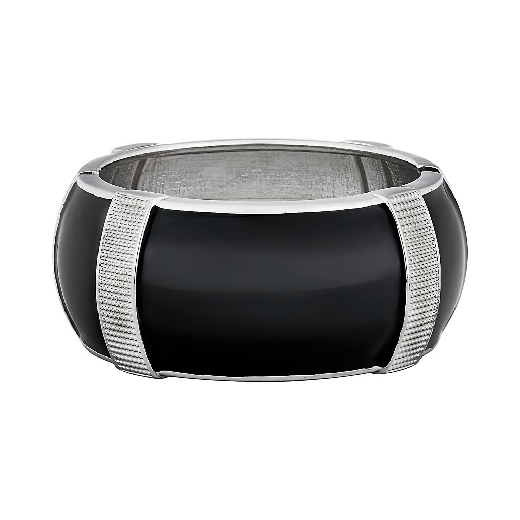 Textured Hinged Bangle Bracelet for Fitbit® Charge™