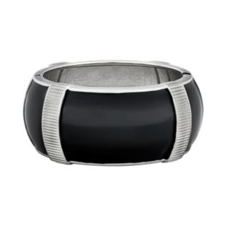 Textured Hinged Bangle Bracelet for Fitbit® Charge?