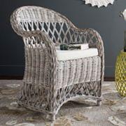 Safavieh Inez Wicker Club Chair