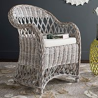 Safavieh Inez Wicker Club Chair
