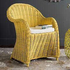 Safavieh Callista Wicker Club Chair
