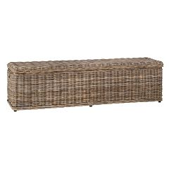 Safavieh Caius Wicker Trunk
