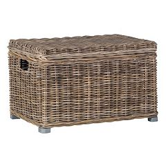 Safavieh Mikasi Wicker Trunk