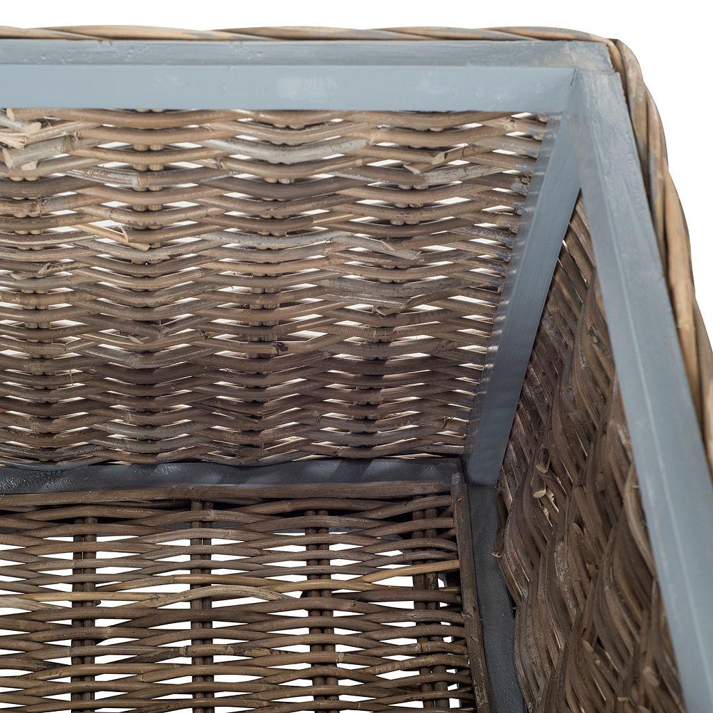 Safavieh Mikasi Wicker Trunk