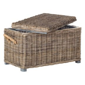 Safavieh Salim Wicker Trunk
