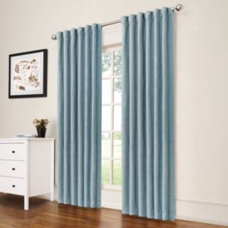 eclipse Thermaweave Blackout 1-Panel Dutton Window Curtain