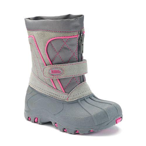 Tori Toddler Girls' Waterproof Snow Boots