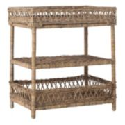 Safavieh Ajani 3-Tier Wicker End Table