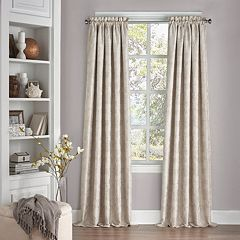eclipse Thermalayer Blackout 1-Panel Macey Window Curtain