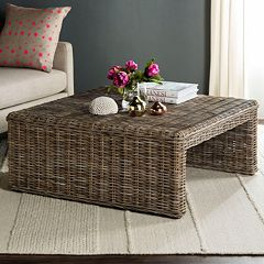 Safavieh Persis Wicker Coffee Table