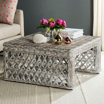 Safavieh Shila Wicker Coffee Table